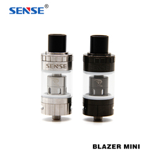 100% Original Sense Blazer Mini Sub-Ohm Tank 3.6ml Capacity Flip Hinged Top Fill System Atomizer Support 50 To 100W Mod