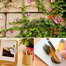 1PC 30 Pages 3D Butterfly Bookmark Style Teacher's Gift Book Marker Stationery Gift Realistic Domestic Collection Write Bookmark(China)