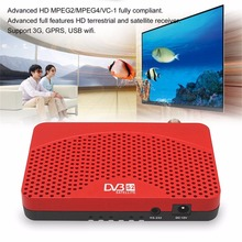 Universal DVB-S2+IPTV+IKS Red TV Box Full HD Satellite Wifi KeyTuner Receiver Support USB Wi-Fi And 3G Dongle US Plug