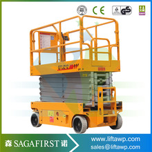 CE Approved 10m Mobile Scissor Lift Table for Sale(China)