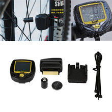 Wireless LCD Bike Computer Speed Odometer Speedometer Cycle Bicycle Waterproof ciclismo cycling accessories 2017