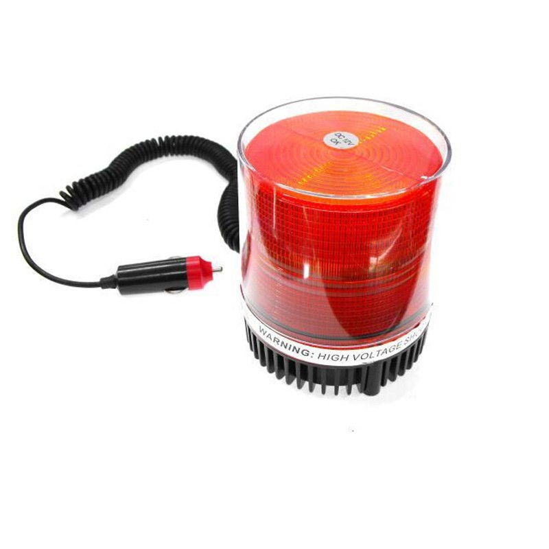 12V  ROTATING BEACON WARNING  LIGHT CAUTION REVOLVING CAR ROOF trouble lamp emmergency lighting multi  -function indicator<br><br>Aliexpress