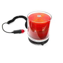FUGSAME 12V BEACON WARNING LIGHT CAUTION REVOLVING CAR ROOF trouble lamp emmergency lighting multi -function indicator(China)