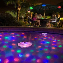 New LED Floating Light Underwater Aqua Glow Swimming Show Pond Pool Spa Tub Lamp CLH@8