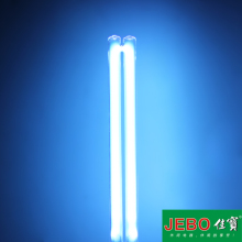 JEBO UV Sterilizer Water Filter Light Tube Replacement 2-pin G23 Base Linear Twin Tube UV-C Germicidal Ultraviolet Light Bulb(China)