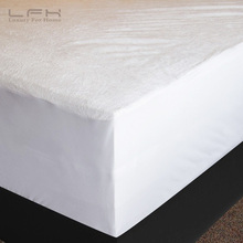 Only For Russian 160X200CM Terry Mattress Covers Fitted Sheet Bed Bug Proof Waterproof Mattress Protector Bed Protection(China)