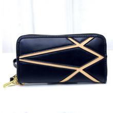 The new brand of high-end fashion Ladies Wallet Zipper Wallet Leather Hand Bag Purse The modern trend of convenient Wallet 141