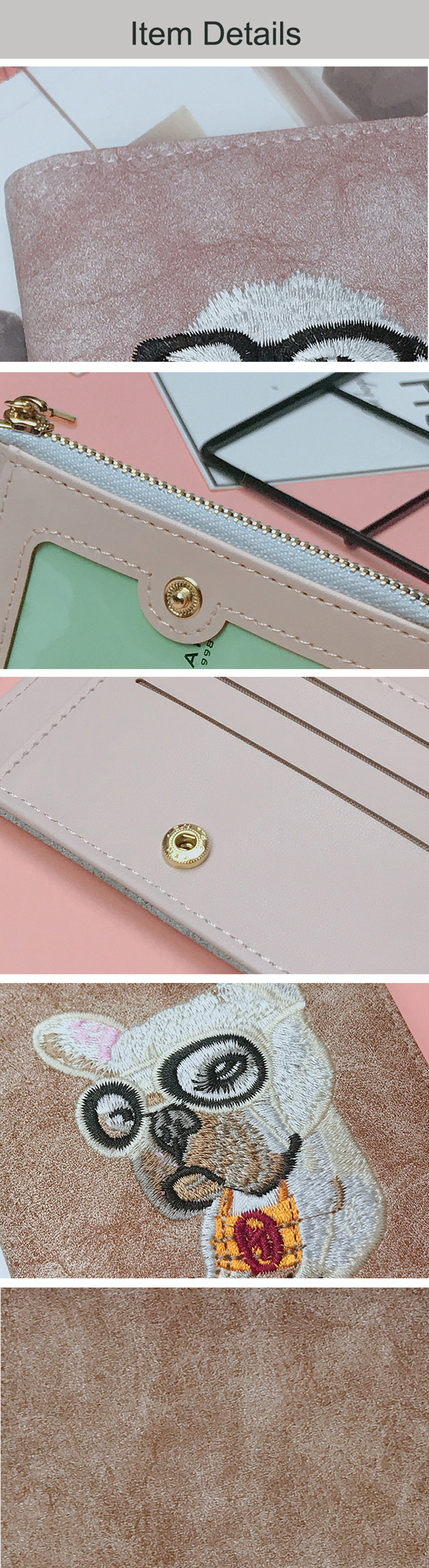 YOUNNE Women Wallets PU Leather Card Holders for Girls Wallet Bag for Card Holder High Quality Coin Purse Solid Carteira Feminin10