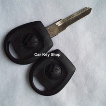 Replacement Cover Suit For VW Jetta Transponder Key Shell With Left Blade  WITH LOGO