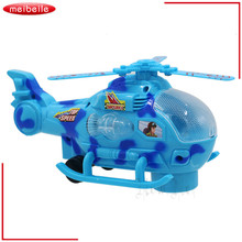 Children's gift Electric Flash Universal Music Light Aircraft Toy Helicopter Aircraft