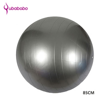 85cm PVC Unisex Yoga Balls For Fitness 4 colors Gym balls for Slimming Baby Balancer ball women Fitness Ball without Air Pump(China)
