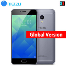 "Original Meizu M5S 3GB 32GB Global Firmware 4G LTE Cell Phone 5.2"" Fingerprint ID Fast Charge 13.MP Metal Case"