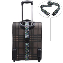 Luggage Strap Suitcase Belt 200cm x 5cm Packing Belt Polyester Fabric Fashion Pattern Buckle Closure Travel Accessories