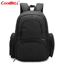 CoolBell large capacity nappy diaper bag backpack waterproof mummy maternity bag multifunctional Nursing baby care bag(China)