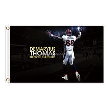 Demaryius Thomas Denver Broncos Flag Design Super Bowl Champions 3x5 FT 100D 150X90Cm Banner Polyester Flag(China)
