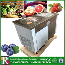 RL-R1+6 recipe available most popular one pan fried ice cream machine for ice cream roll(China)