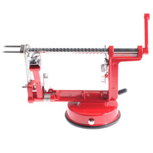 Fruit Apple 3in1 Peeler Corer Safe Slicer Cutter Stainless Steel Suction Base Apple  Machine Shop apple machine peeler online