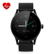 Excelvan K88H Smart Watch Track Wristband MTK2502 Bluetooth K88H Smartwatch Heart Rate Monitor Pedometer Dialing For Android IOS(China)