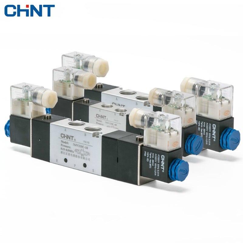 CHINT Two Position Five 24v 220V Electromagnetism Valve Coil Electromagnetism Valve 4v230 330 430 <br>