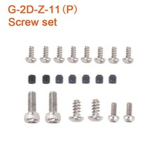 Original Walkera G-2D White Version FPV Plastic Gimbal Parts Screw Set G-2D-Z-11(P)