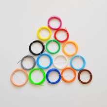 20 colors 100m 3D printer filament ABS 1.75 mm plastic material for 3D pen doodler drawing and printing