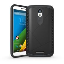 Slim Durable Armor Cover Defender bag Rugged Silicone Shield Case For Motorola Moto X Force / Droid Turbo 2 XT1580 XT1581 XT1585
