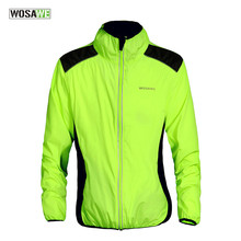 Windproof Jacket Cycling Windcoat Men Women Reflective Cycling Jersey antivento ciclismo velo jackeMTB Cycle Bicycle Wind Jacket