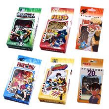 Detective Conan/ One piece /Assassination Classroom/ HIitman Reborn Cartoon Poker Play Cards toy anime cartoon collectible gift(China)