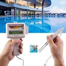 PC101 New hot selling Portable Water Quality PH CL2 Chlorine Tester Level Meter PH Tester for Swimming Pool Spa(China)