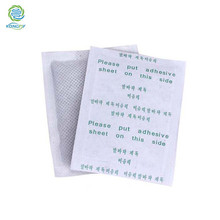 KONGDY Brand 6x8cm Detoxin Foot Patch 100Pieces=50pcs Patches+50pcs Adhesives Herbal Cleansing Foot Pad Improve Sleep Foot Patch(China)