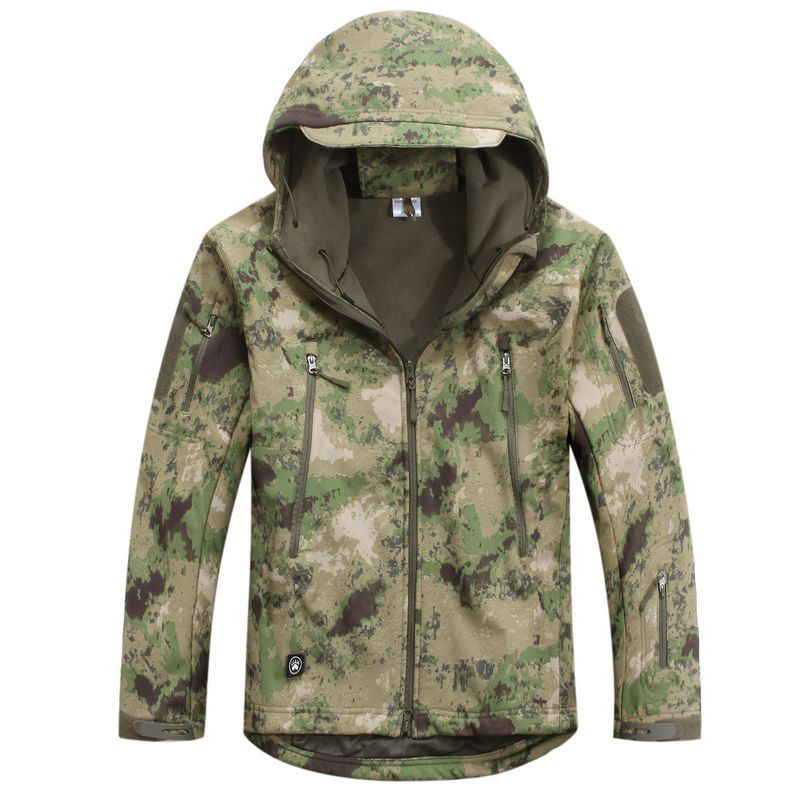 High Quality TAD V 4.0 Mens Winter Softshell Jacket Hunting Camping Hiking Windproof Coats Hoody Polyester Warm Jacket<br><br>Aliexpress