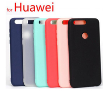 Huawei P9 lite P10 lite P10 Plus Honor 8 Nova Mate 9 P8 Lite 2017 Crystal And Soid colors Back Cover Protect Skin Silicon Case