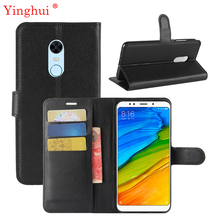 Buy New 2018 Xiaomi redmi 5 Plus Case High Flip Leather Phone Case Xiaomi redmi 5 Plus Book Style Stand Cover for $3.61 in AliExpress store