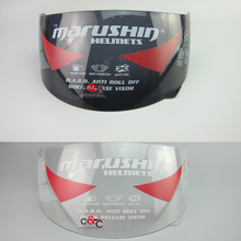 new marushin motorcycle helmet lens marushin helmet model 111 222 778 999 888 RS2 779 shield lens helmet glass(China)