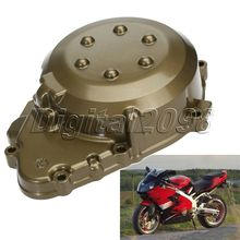 Motorcycle Left Crankcase Stator Engine Cover For Kawasaki Ninja ZX9R ZX-9R 1998-2003 99 00 01 02 Aluminum Motorcycle Parts