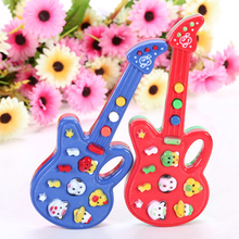 Electronic Guitar Toy Nursery Rhyme Music Children Baby Kids Toy Gift  92NT