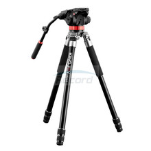 Professional Aluminum Heavy Duty Tripod w/ Bowl Level for Video Camera and Telescope Stable in The Wind Watching Stars 4007(China)