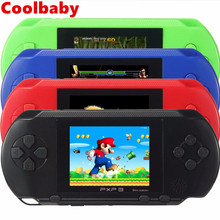 Coolbaby 16 Bit PXP3 Handheld Gaming Console built-in 110 Classic Slim Station Free Game Card Console Video Game Player Handheld(China)