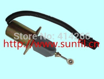 3935649 Fuel Shutdown Solenoid Valve for  6CT  12V<br>