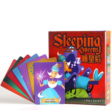 Sleeping Queens Queen Children'S Educational Toy Card Game Board Game Party Game Funny Kids Game Toys With English Instructions(China)