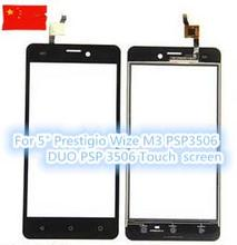 "New Touch Screen For 5"" for Prestigio Wize M3 PSP3506 DUO PSP 3506 Smartphone Touch Panel Digitizer Glass Sensor Replacement"