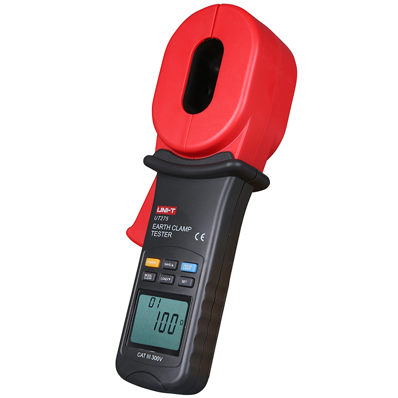 UNI-T UT275 Professional Auto Range Clamp Earth Ground Resistance Testers 0.01-1000ohm w 0~30A Leakage Current Tester UT2752