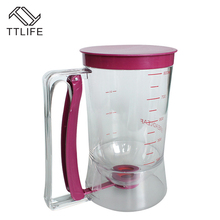 TTLIFE Batter Dispenser Perfect Baking Tool for Any Baked Goods Kitchen Easy Pour Food Gadgets Bakeware Maker with Measuring(China)