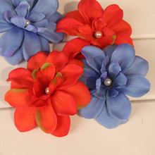 Recommend Artificial Freesia Cloth Flower Heads for Photography Wedding Festival Decoration