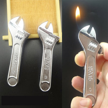 Creative Mini Pliers tools Fire Refillable Cigarette Lighter Butane Gas Wrench Ornaments Toy Lighter Home Decoration For Gift(China)
