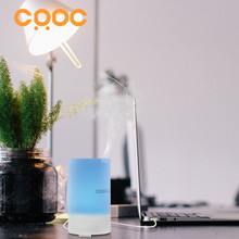 CRDC 50ml USB Mini Car Humidifier Ultrasonic Air Purifier Aromatherapy Essential Oil Diffuser with 5V/1A Car Charger