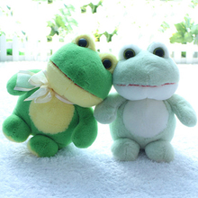 Cute Animal Soft Big Eyes Plush Toy Doll Frog Kids Toys Decoration Mariage Birthday Gift Mini Pelucias Toys For Girls 70G0350(China)
