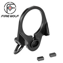 FIRE WOLF Airsoft M4 /16 GBB End Plate Sling Mount Adapter Hunting Gun Accessories