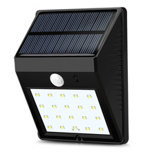 Dcoo Solar Lamp Outdoor 20 LEDs Motion Sensor Garden Decoration Lampada Luz Solar Waterproof Garden Led Solaire Street Light(China)