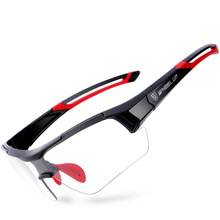 Wheel Up Photochromic Cycling Glasses Outdoor Sports Discoloration Sunglasses MTB Bike Eyewear Anti-UV Bicycle Goggles
